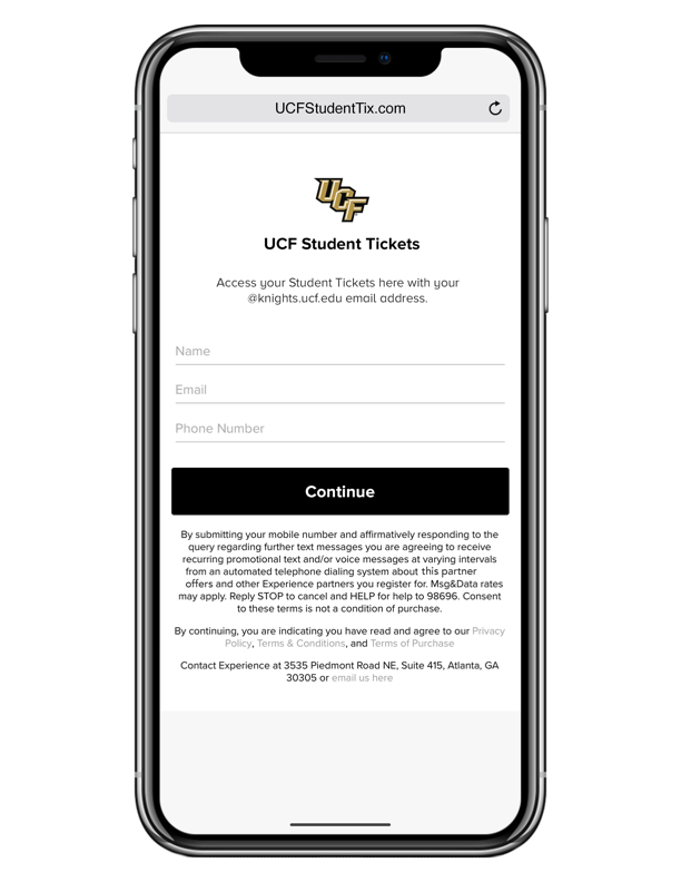 Student Ticketing - UCF Athletics