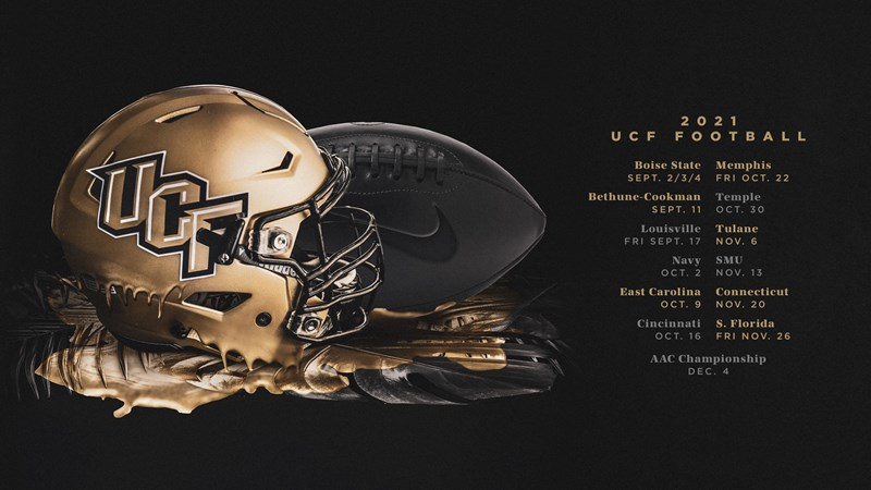 Ucf Spring 2022 Calendar.2021 Ucf Football Schedule Now Official Ucf Athletics